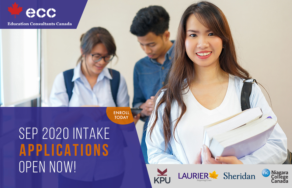 Apply for September 2020 Intake in Canada