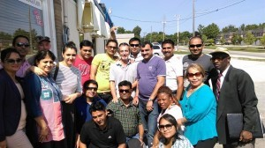 Group Picture of FAM Trip in India by Education Consultants Canada
