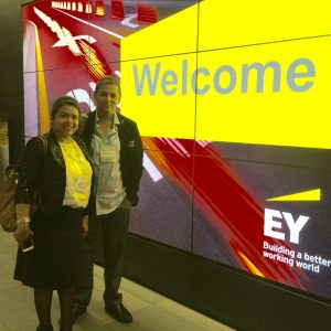 EY Entrepreneur Award Function - Education Consultants Canada