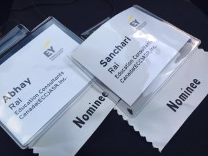 EY Entrepreneur Award Event Nominees - Education Consultants Canada
