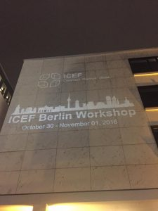 ICEF BERLIN Workshop - NOVEMBER 2016 - Education Consultants Canada