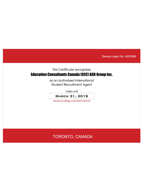Education Consultants Canada is an authorized student Recruiter for Fanshawe College, Canada