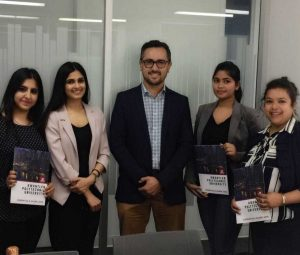 Kwantlen Polytechnic University Visit by Education Consultants Canada