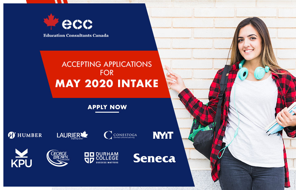 Apply for May 2020 Intake in Canada
